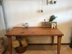 ラオス松テーブル