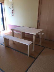 テーブル ベンチセット